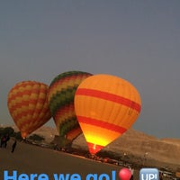 Photo taken at Luxor Balloon by Laura on 1/8/2017