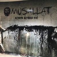3/23/2018 tarihinde H.Halilziyaretçi tarafından Musallat Konya Korku Evi'de çekilen fotoğraf