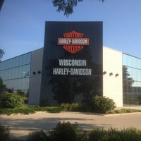 Photo taken at Wisconsin Harley-Davidson by Hugh on 8/19/2013