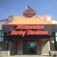 Photo taken at Milwaukee Harley-Davidson by Hugh on 8/19/2013