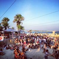 Photo taken at Makronissos Beach by Jayson P. on 6/6/2013