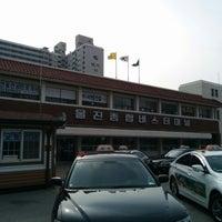 Photo taken at 울진종합버스터미널 by Jiho R. on 3/9/2014