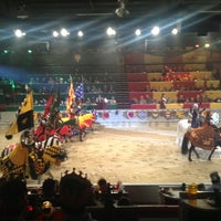Photo taken at Medieval Times Dinner & Tournament by Mao on 11/23/2012