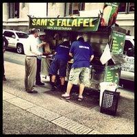 Photo taken at Sam's Falafel by Evan R. on 6/18/2013