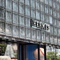 Photo taken at Maison Hermès by Ben C. on 7/16/2013