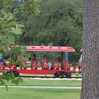 Photo taken at Hermann Park by Laura O. on 10/9/2012