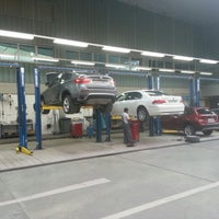 Photo taken at BMW SERVICE by Ahmed A. on 9/19/2012