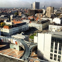 Photo taken at Luxemburgplein / Place du Luxembourg by andtrap on 10/9/2012