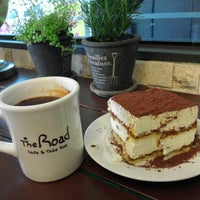 Photo taken at The Road Cafe by Andrea B. on 3/1/2013