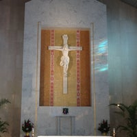 Photo taken at Co-Cathedral Of St. Theresa by jeannemariepics v. on 10/20/2012