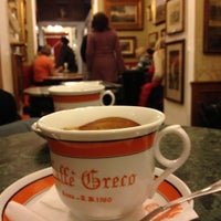 Photo taken at Antico Caffè Greco by Софья on 10/30/2012