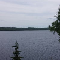 Photo taken at Grand Sable Lake Scenic Overlook by Kelly D. on 6/10/2014