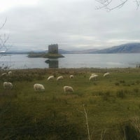 Photo taken at Castle Stalker View Cafe by Juanys S. on 3/19/2016