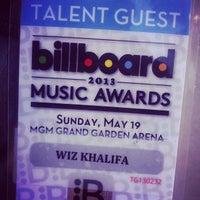 Photo taken at Billboard Music Awards by Vali on 5/19/2013