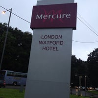 Photo taken at Mercure London Watford Hotel by Paul F. on 9/17/2013