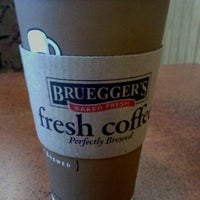 Photo taken at Bruegger's by Neil K. on 2/23/2013
