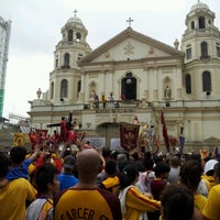 Photo taken at Minor Basilica of the Black Nazarene (Quiapo Church) by Miguel Aaron F. on 1/1/2013