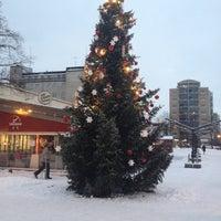 Photo taken at Eetunaukio by Marika on 12/10/2012
