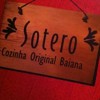Photo taken at Sotero Cozinha Original by Brunno R. on 2/22/2013