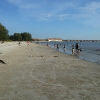 Photo taken at Bagan Lalang Beach by Syed Fadhlan on 5/12/2013
