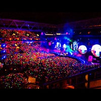 Photo taken at Suncorp Stadium by Sam F. on 11/21/2012
