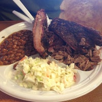 Photo taken at Jim's Bar-B-Q by Darla on 1/25/2015