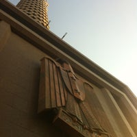 Photo taken at Cairo Tower by Mohamed on 9/28/2012