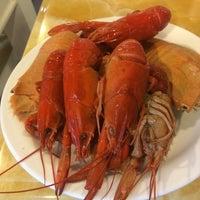 Photo taken at Vienna International Seafood & Teppanyaki Buffet Restaurant by Teong S. on 11/21/2014
