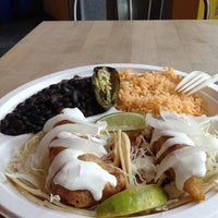 Photo taken at Dorado Tacos & Cemitas by Luis M A. on 10/19/2012