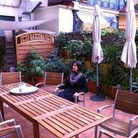 Photo taken at Central Garden Hostel One by Carolina L. on 11/21/2012
