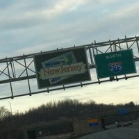 Photo taken at Welcome To New Jersey by Kelly on 3/3/2013