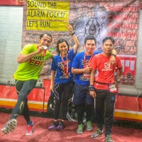 Photo taken at Balai Bomba Dan Penyelamat Cyberjaya by Muhammad Nizam R. on 9/20/2015
