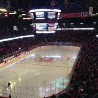 Photo taken at Scotiabank Saddledome by Mark H. on 2/24/2013