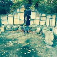 Photo taken at Jewish cemetery Gąbin by Julia on 10/25/2016