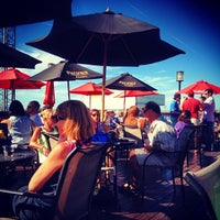 Photo taken at Atlantic Beer Garden by Zoe S. on 8/24/2013