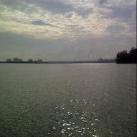Photo taken at Pantai Marina Ujung by Yhanda San Thano M. on 2/16/2014