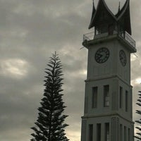 Photo taken at Jam Gadang by Mochammad A. on 11/18/2012
