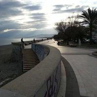Photo taken at Lungomare di Catanzaro by Simone A. on 12/29/2012