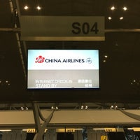Photo taken at China Airlines (CI) Check-In Area by Pradabpong W. on 3/16/2017