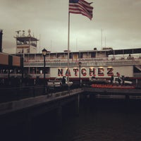 Photo taken at Steamboat Natchez by Ian on 2/11/2013