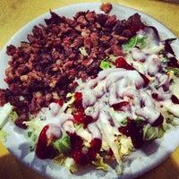 Photo taken at Magboul Shawarma by Banong on 2/21/2013