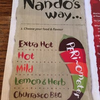 Photo taken at Nando's by Chenyi L. on 2/16/2015
