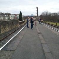 Photo taken at Platform 1 by Lynda J. on 3/3/2013