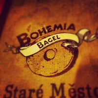 Photo taken at Bohemia Bagel by Андрей К. on 1/6/2013