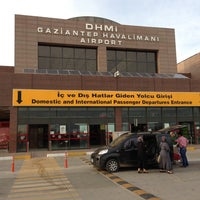 Photo taken at Gaziantep Airport (GZT) by Halit Murat G. on 5/5/2013
