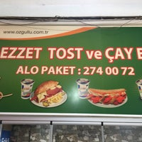 Photo taken at Lezzet Tost Evi by Mete A. on 6/13/2017