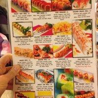 Photo taken at Sushi Moto by Kristin M. on 1/23/2013