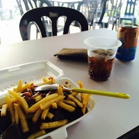 Photo taken at deen burger bakar by syafiq s. on 2/13/2016