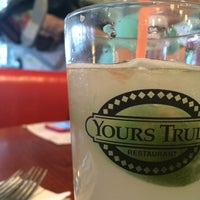 Photo taken at Yours Truly Restaurant by Chuck P. on 1/11/2015