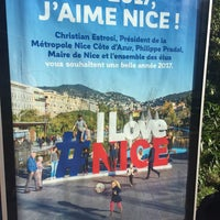 Photo taken at Gare SNCF de Nice Saint-Augustin by Stefan M. on 5/19/2017